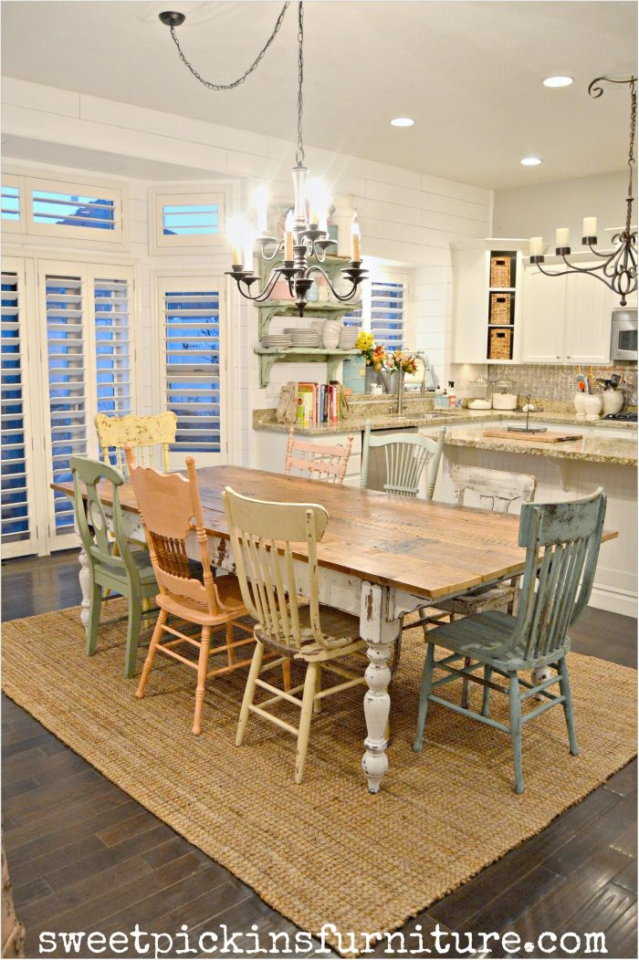 Dining Room Chairs Farmhouse Style