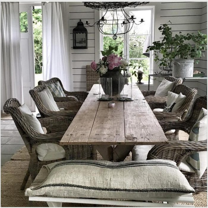 Dining Room Chairs For Farmhouse Table