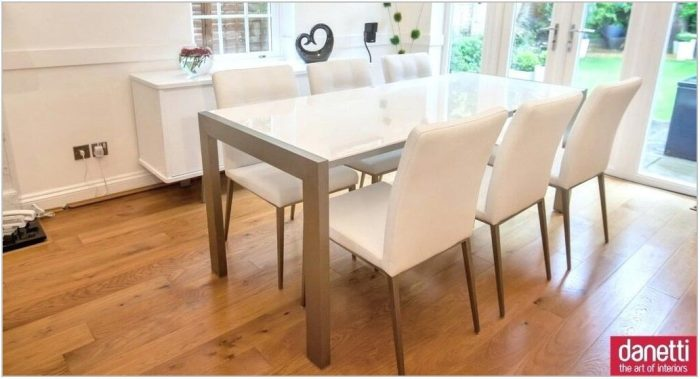 Dining Room Sets With White Chairs