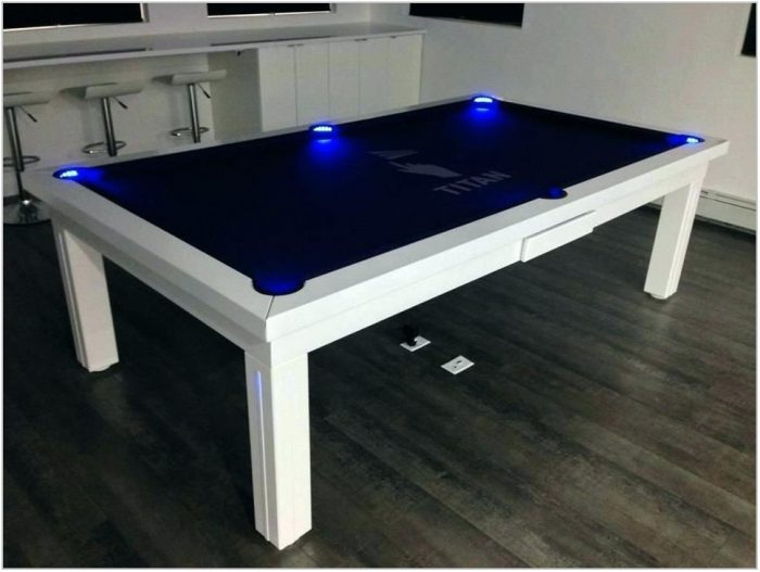 Dining Room Table And Pool Table