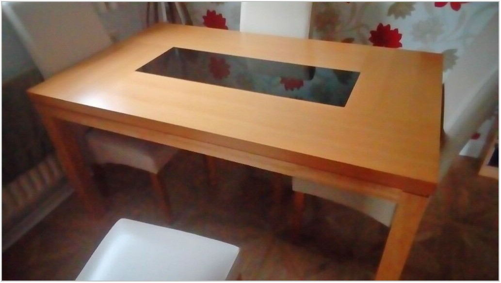 Dining Room Table With Glass Insert Dinning Room Home