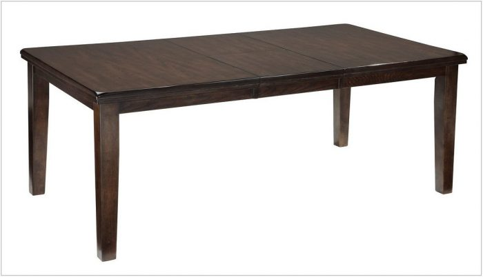 Extendable Rectangular Dining Room Table