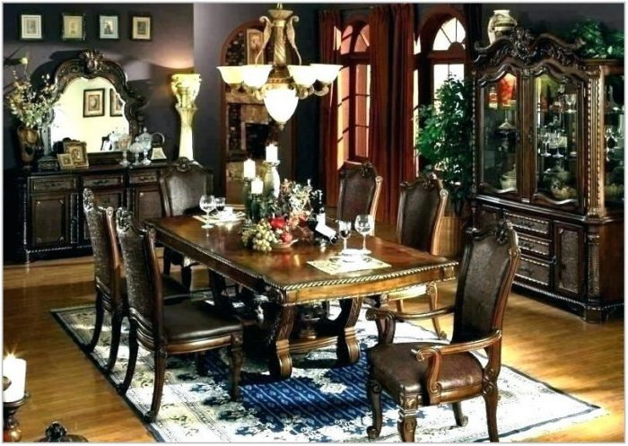 Extra Large Round Dining Room Table