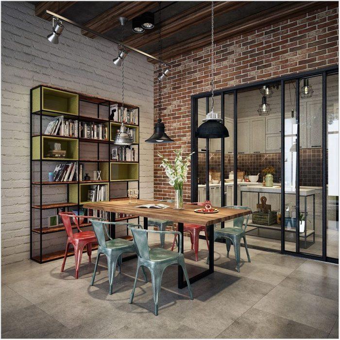 Industrial Design Dining Room