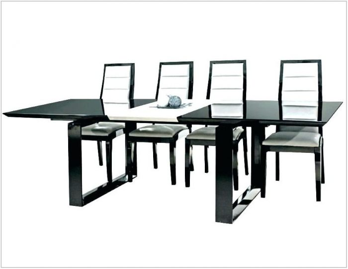 Italian Black Lacquer Dining Room Chairs