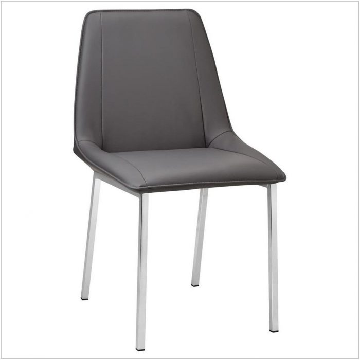 Leather Dining Room Chairs With Metal Legs