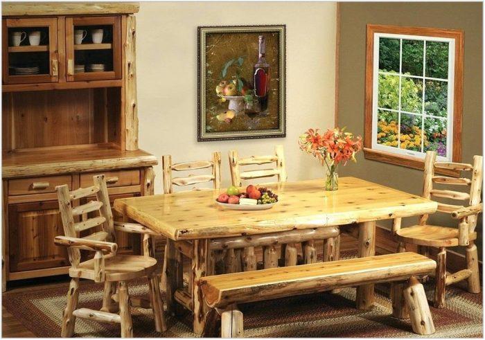 Lodge Dining Room Furniture