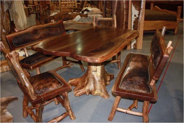 Log Dining Room Sets