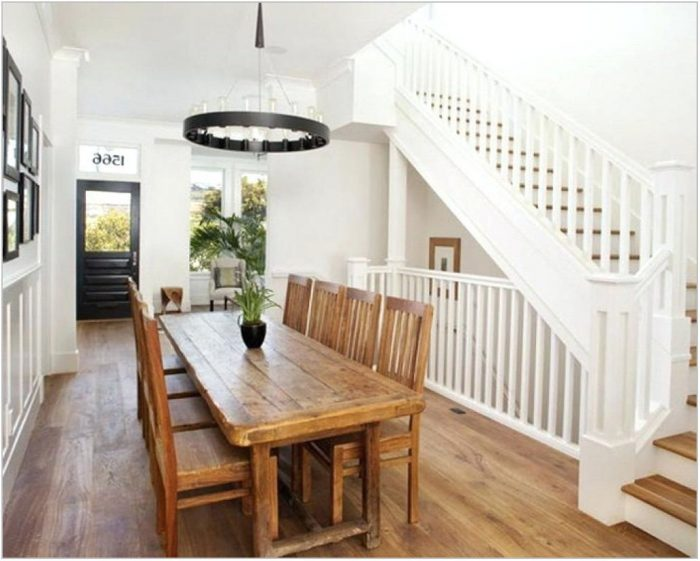 Long Thin Dining Room Table