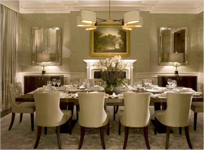 Luxury Dining Room Lighting