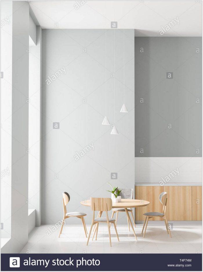 Minimalist Dining Room Table